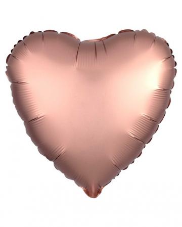 Heart Foil Balloon Rose Gold