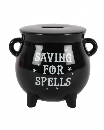 Witch Cauldron Money Box