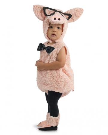 Hipster Kleinkinder Kostüm Schweinchen