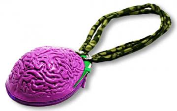 Brain Handbag As Costume Accessory