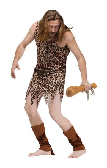 Steinzeit Menschen Kostüm