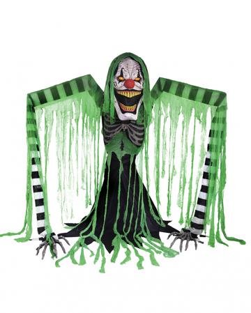 Gräßlicher Horrorclown Halloween Animatronic