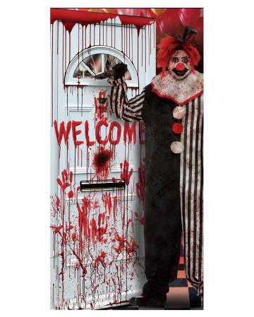 Killer Clown Türfolie