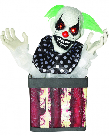 Killerclown in Box Animatronic 43cm