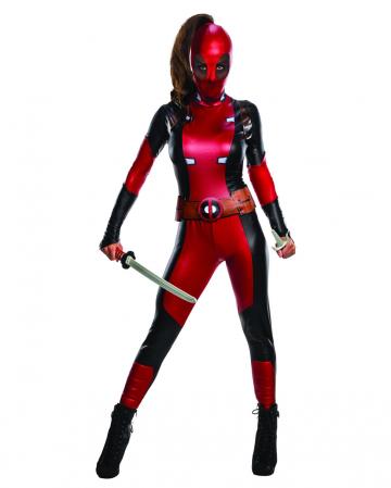 Damenkostüm Deadpool