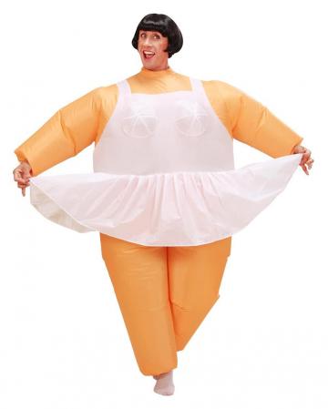 Aufblasbares Ballerina Kostüm