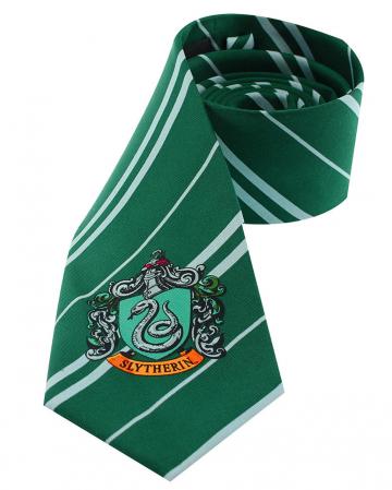 Harry Potter Slytherin Krawatte mit Hauswappen