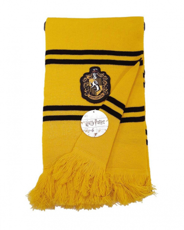 Hufflepuff Knitted Scarf Yellow-Black - Harry Potter