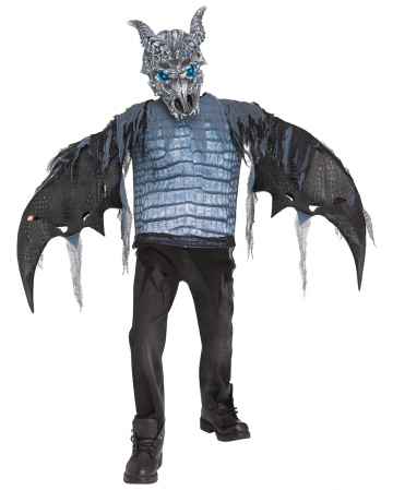 Ice Dragon Kids Costume with LEDs