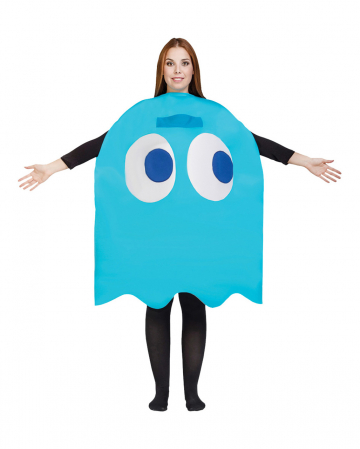 Inky Ghost Pac Man Costume