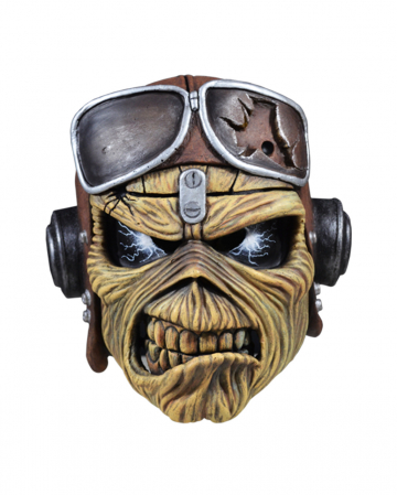 Iron Maiden Aces High Eddie Latexmaske