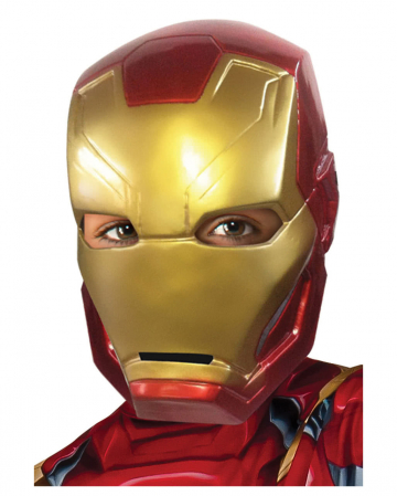 Iron Man Kinder-Halbmaske