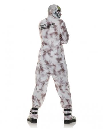Irrenanstalt Kostüm mit Zwangsjacke