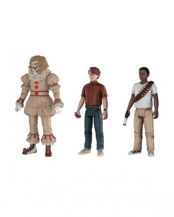 IT 2017 Actionfiguren Set (Pennywise, Stan, Mike)