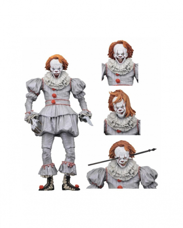 IT Ultimate Pennywise Well House Actionfigur 18cm
