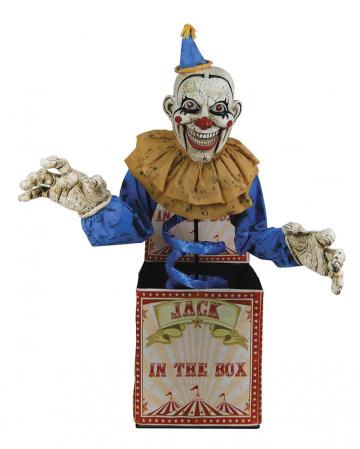 Jack in the Box Halloween Animatronic