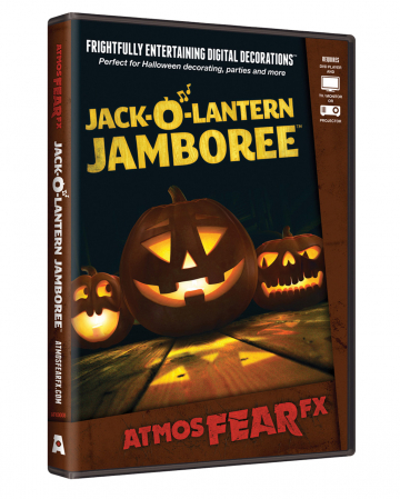 Jack'o'Lantern TV Halloween Effekt DVD