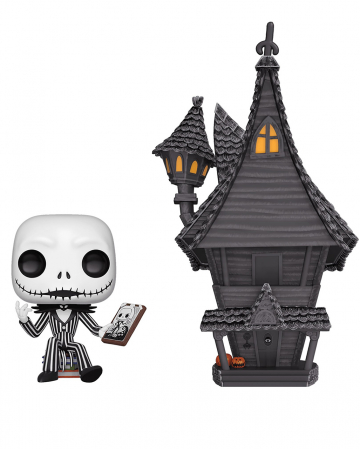 Jack Skellington & Horror House Funko POP! Figur