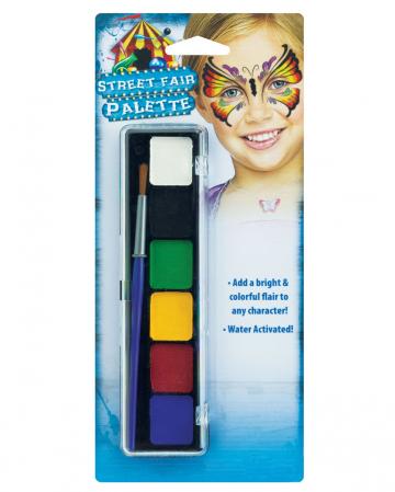 Jahrmarkts Aquacolor Schminkpalette Universal