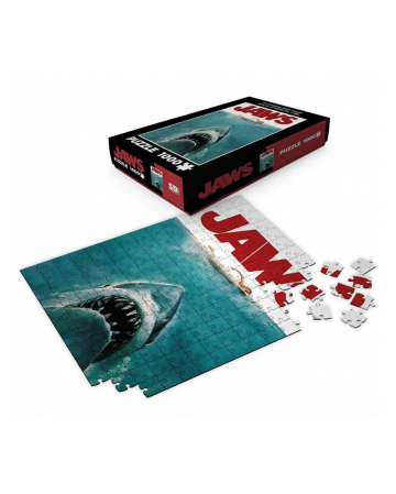 Jaws The White Shark Puzzle 1000 Pieces