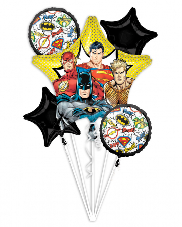 Justice League DC Foil Balloon Bouquet