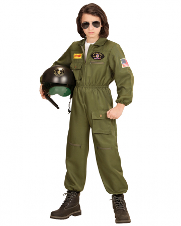 Fightjet Pilot Child Costume