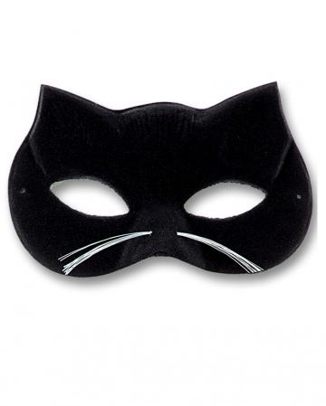 Katzen Maske aus Samt