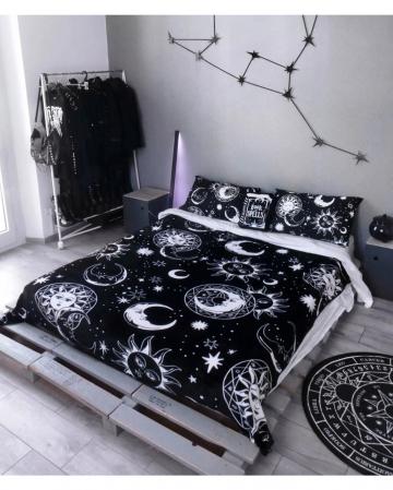 KILLSTAR Astral Light Gothic Bedspread