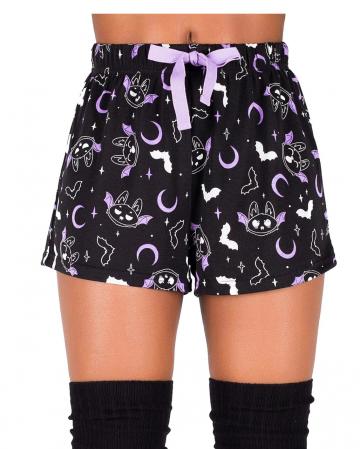 KILLSTAR Batty Shorts Sleeping Pants