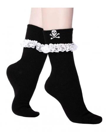 KILLSTAR Poisoned Mind Ruffled Socks