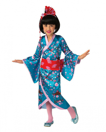 Cherry Blossom Geisha Child Costume