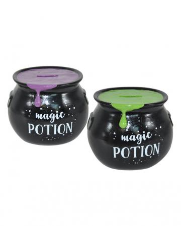 Small Witch Cauldron Money Box
