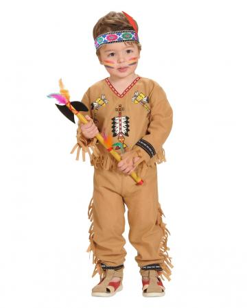 Kleiner Indianer Kostüm für Kleinkinder