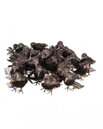 Small Black Raven 12 Cm