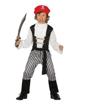 Kleiner Piratenkönig Kinderkostüm