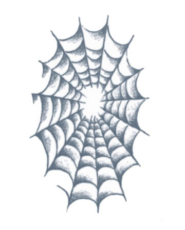 Jail Adhesive Tattoo Spiders Web