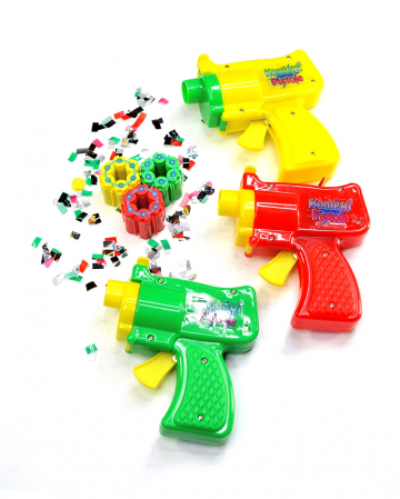 Confetti Pistol With Sound - 3 Cartridges A 6 Rounds
