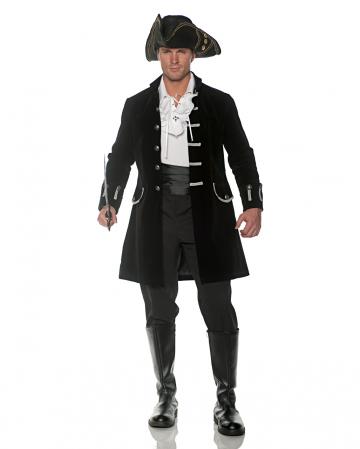 Costume frock coat black velvet