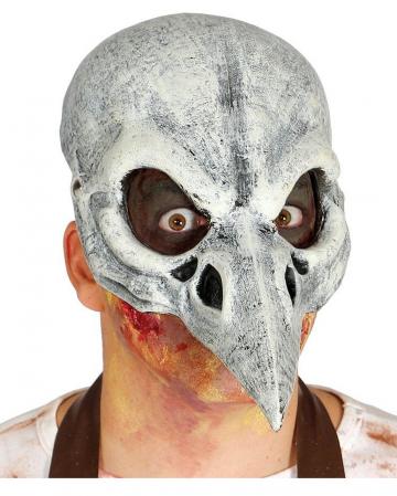Rabenschädel Halbmaske