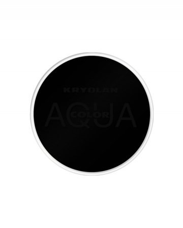 Kryolan Aquacolor Deep Black 15ml
