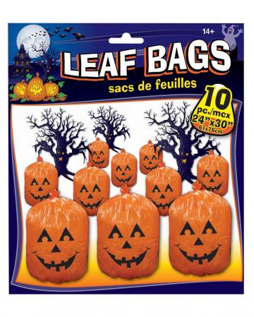 Pumpkin Foliage Bags 10 Pieces
