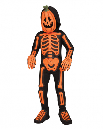 Pumpkin Skeleton Jumpsuit Toddler
