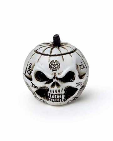 Pumpkin Skull Miniature Figure 3cm