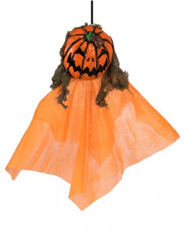 Pumpkin Ghost Hanging Figure 30 Cm
