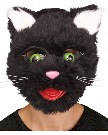 Cats Mask In Comic Style |