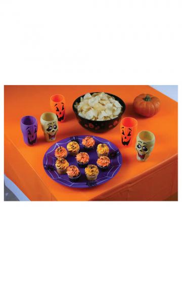 Karnevals Tischdecke orange
