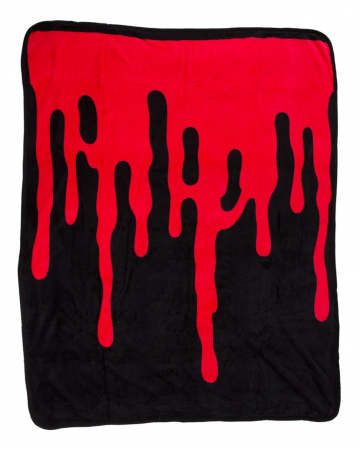 Weiche Blutbad Kuscheldecke