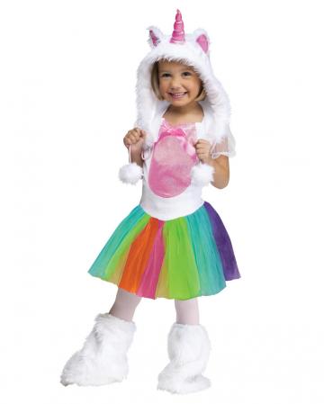 Buntes Einhorn Kostüm Kleinkinder