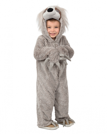 Cuddly Sloth Toddler Costume