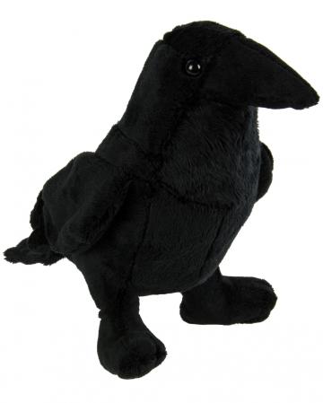 Cuddly Toy Raven 19cm